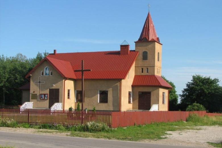 Borzymy - Parafia pw. Matki Bożej Nieustającej Pomocy