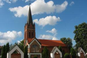 Olecko - Parafia pw. Podwyższonego Krzyża Świętego