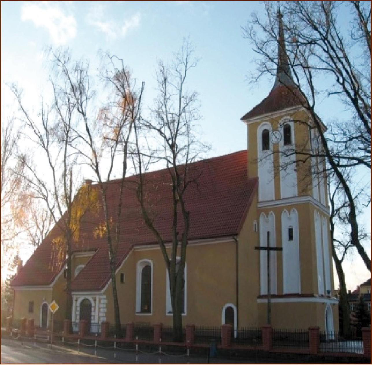 Orzysz - Parafia pw. Matki Bożej Szkaplerznej