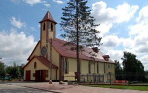Ryn - Parafia pw. Niepokalanego Poczęcia Najświętszej Marii Panny