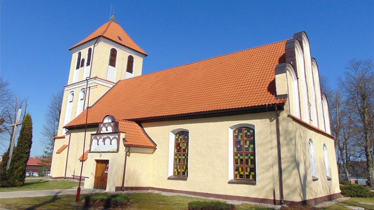 Rydzewo Giżyckie - Parafia pw. Andrzeja Boboli