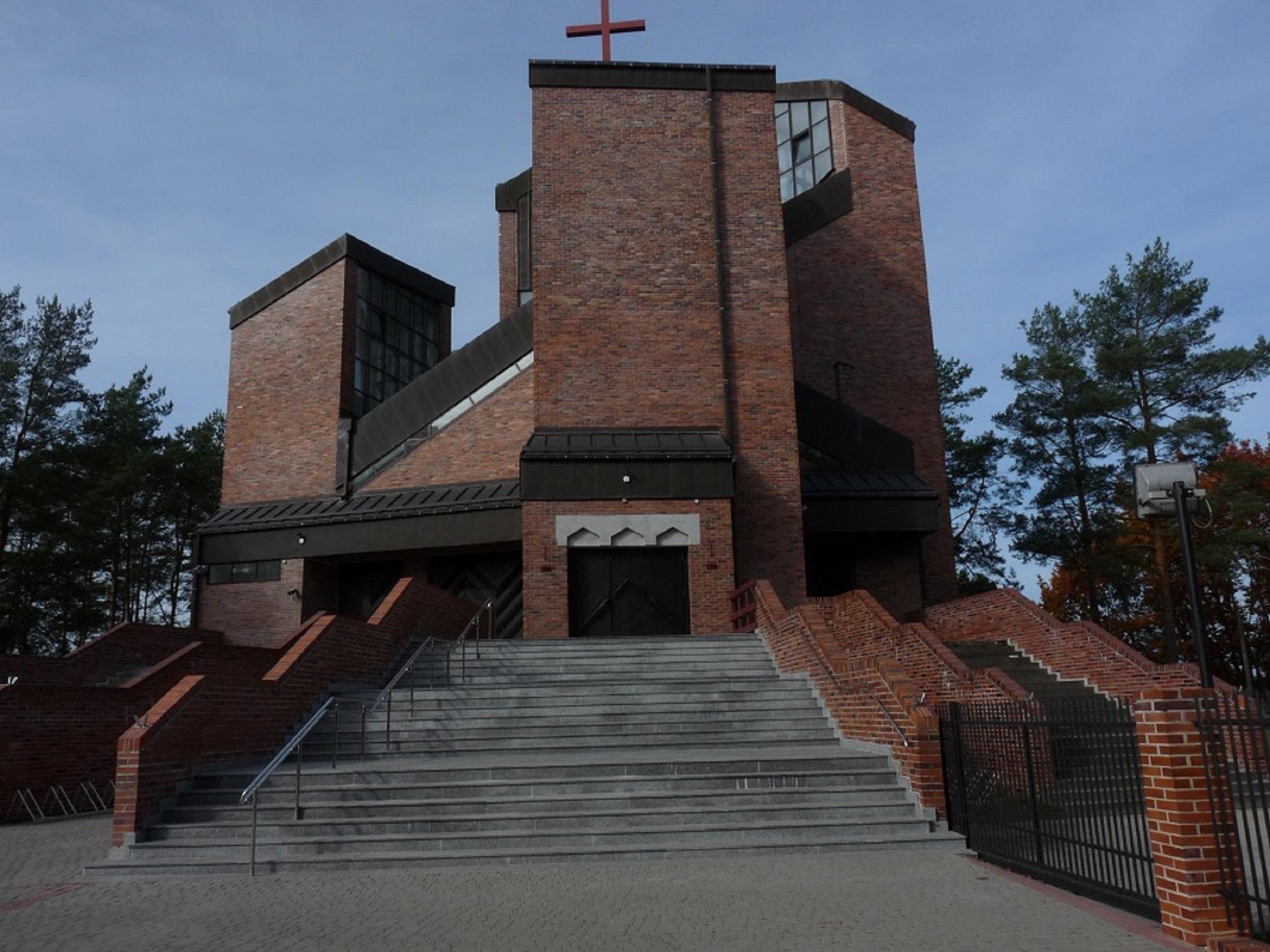 Wilkasy - Parafia pw. Św. Rafała Kalinowskiego