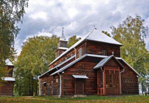 Monkinie - Parafia pw. Matki Bożej Anielskiej